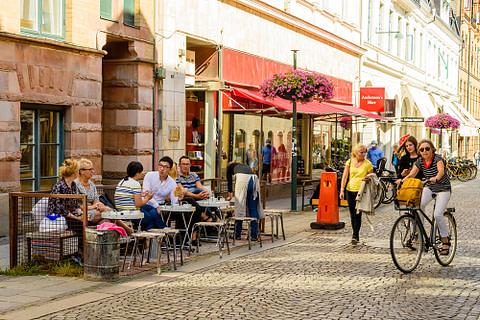 Stadsmiljö i Lund