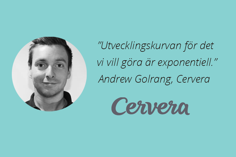 Andrew Golrang, Cervera